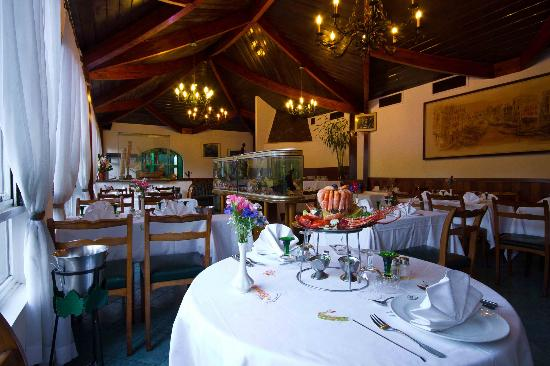 Hotel Gregoire: Le restaurant l'Aquarium