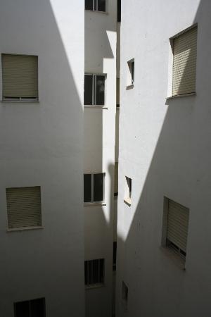 Hotel Universal: chambre avec vue cour intérieure