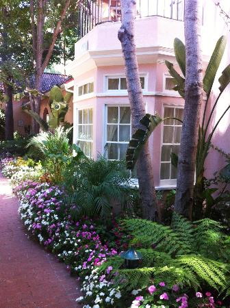 Hotel Bel-Air: beautiful room exterior