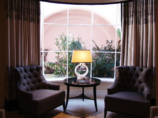 Hotel Bel-Air: view from our living room