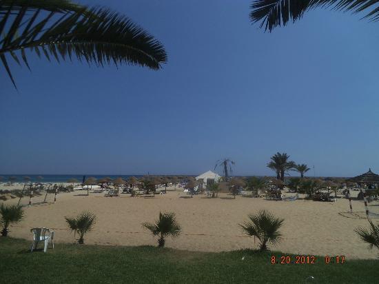 فندق هوتيل بارادايس بالاس: beach and sea 