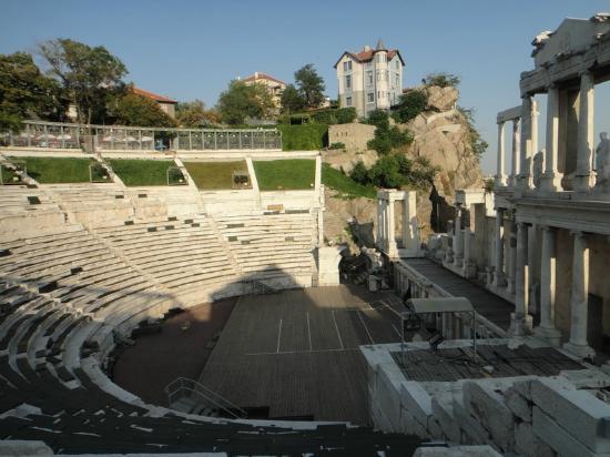 Plovdiv Roman Theatre: 円形劇場