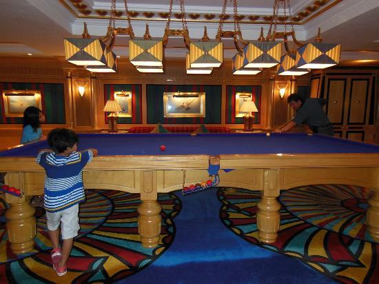 Burj Al Arab Jumeirah: Game room