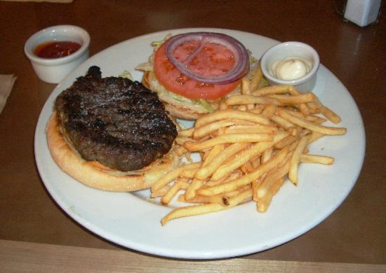 The Brick's Burger Plate