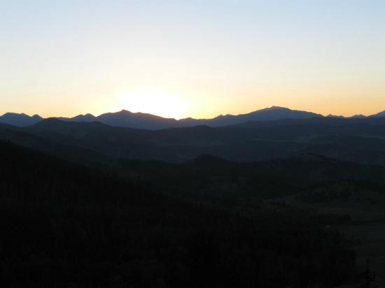 Badger Creek Ranch : Sunrise