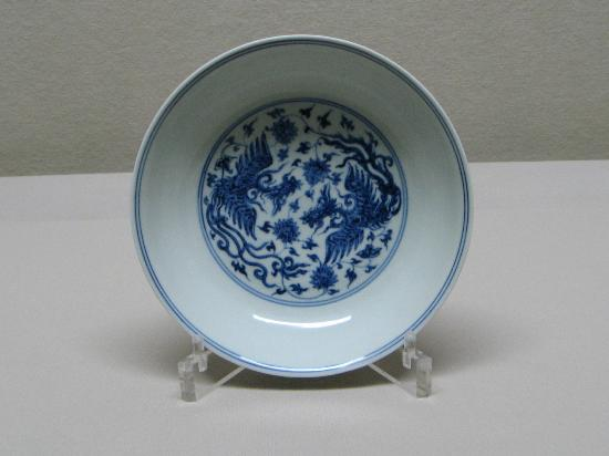 Museum of Oriental Ceramics : 15th cen. Ming Dynasty bowl
