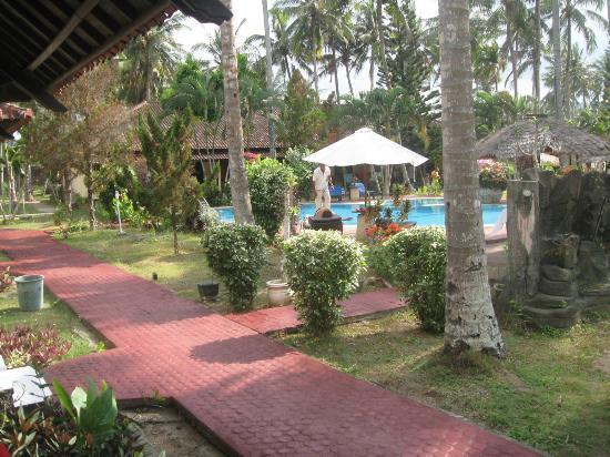 Kuta Indah Hotel: vom Zimmer aus