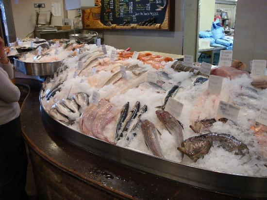Severn and Wye Smokery Ltd.: Part of the fish counter