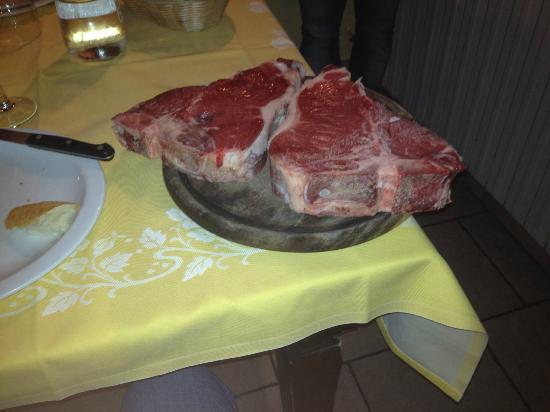 Trattoria Antico Sole : Yep, that's right, nearly 4cm thick!