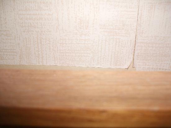 Britannia Hotel Wolverhampton: paper peeling