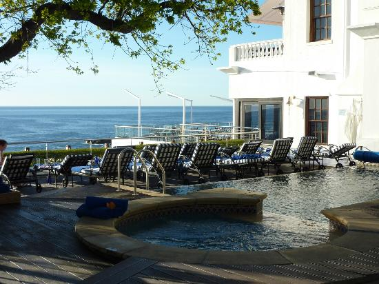 The Twelve Apostles Hotel and Spa: View from Our Room Patio