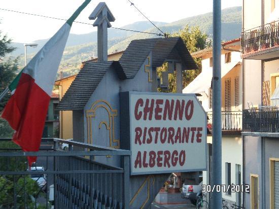 Hotel Chenno: vue du balcon