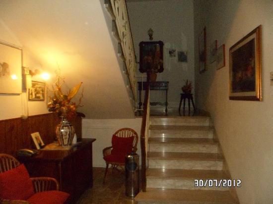 Hotel Chenno: vue du couloir