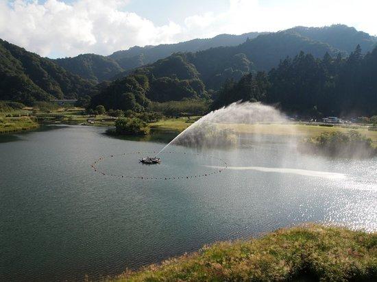 Kiyokawa-mura, Ιαπωνία: Fountain