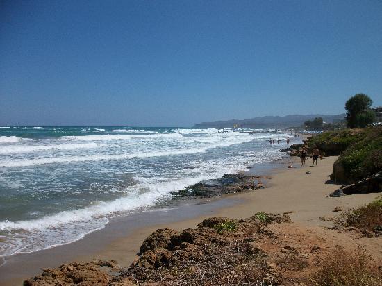 Stalis Beach: Zum Strand kurzer Weg