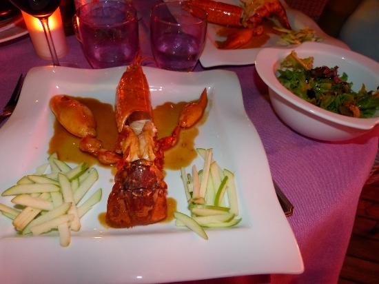 Equinoxe : Delicious Lobster from Brittany
