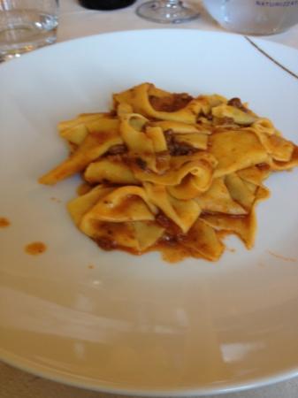 Ristorante La Scottiglia: pappardelle al cinghiale (1/2 porzione)