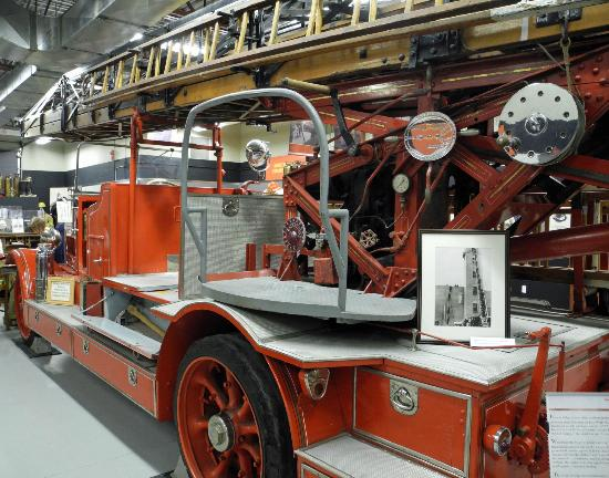 Firefighters Museum of Calgary: 1929 Magirus aerial
