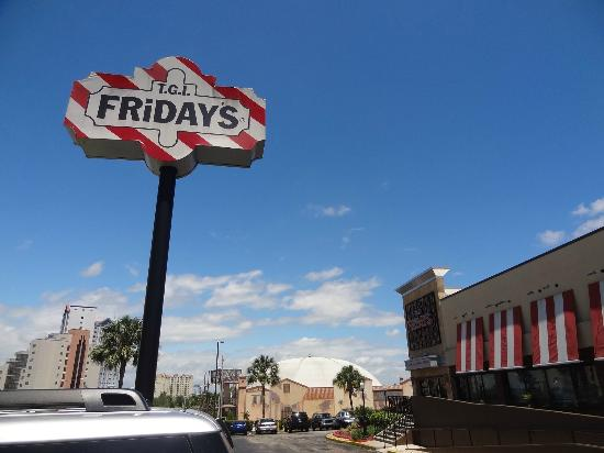 TGI Friday's: excellent food and service...