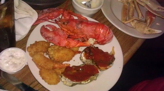 Incredible Boston Lobster Feast In Orlando How Is Salt Water Taffy Made Home Remodeling Inspirations Genioncuboardxyz