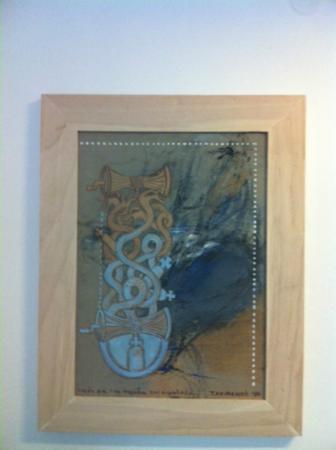 Kivo Art & Gourmet Hotel: Artwork from KIVO Art exhibition