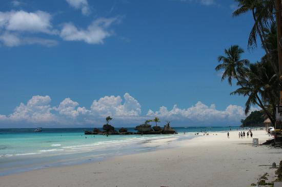 Boracay Beach Club: view from the BBC bar
