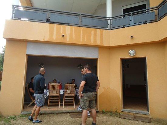 Residence Guddelmoni :                                     terrasse