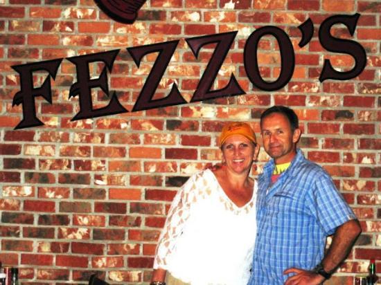 Ernie and me at Fezzo's in Scott, Louisiana, June 2010