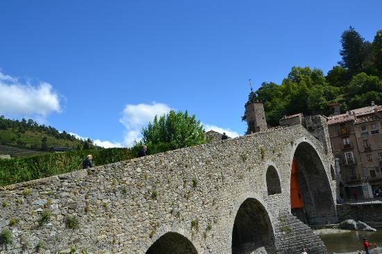 Camping Vall De Camprodon: Puente