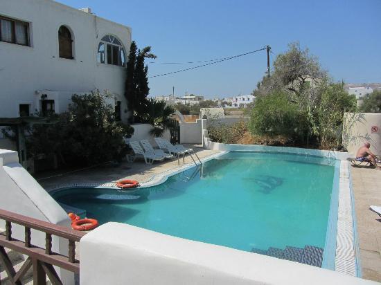 Drossos Hotel: La piscina del hotel
