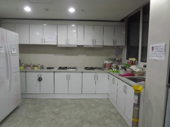 Namsan Guesthouse 2: Pantry and Computer Area in Basement