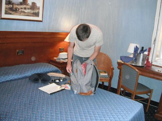 Hotel Portoghesi: Bed