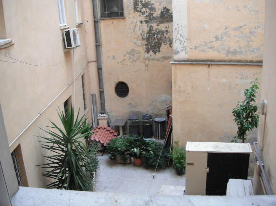 Hotel Portoghesi: view from our window