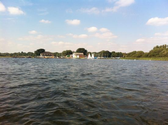 Hornsea Mere: out on the mere
