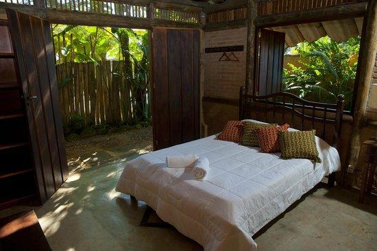 Casa de Bambu: quarto
