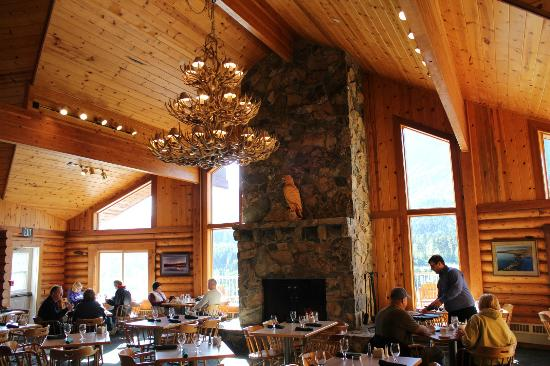 Kenai Princess Wilderness Lodge: Dining room