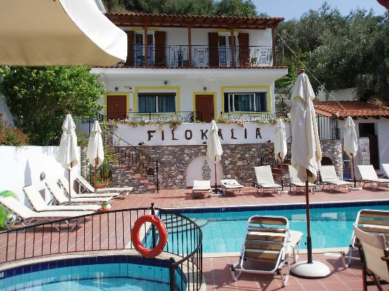 Filokalia Apartments: Rooms from pool