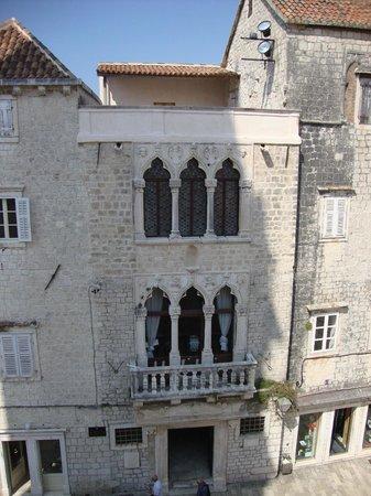Trogir, Croatia: Cipiko Palace