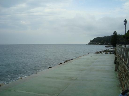 Hotel Miramare: beach