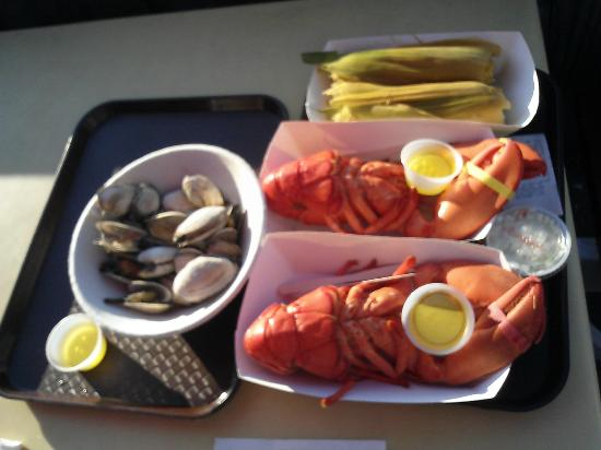 Southwest Harbor, ME: Beal's Lobster Pier (Captain's Galley)