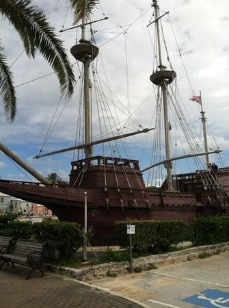 St. George's Parish, Bermuda: ship