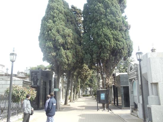 Recoleta: Entrada do Cemitério