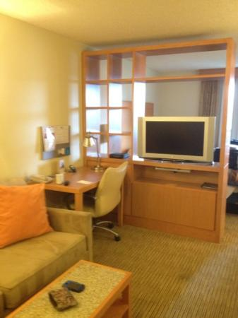 Hyatt House Dallas/Uptown: Living area