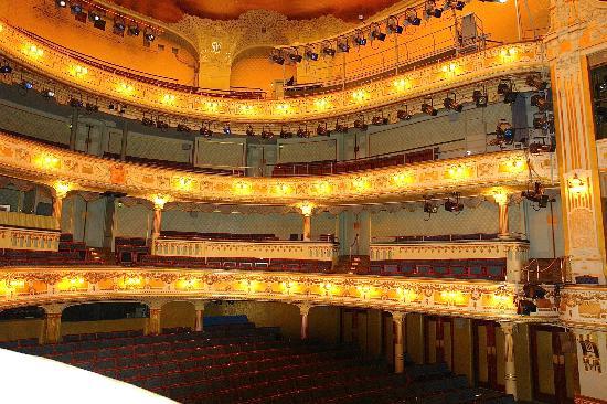 Royal Dramatic Theater (Kungliga Dramatiska Teatern): View from the Royal Box