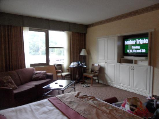 Harrah's Cherokee Casino Resort: Our room