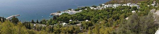 Hotel Poseidon Resort: Panoramic view of the resort