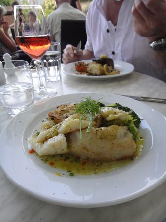Chantellinis Restaurant and Cafe : Fisch Menue