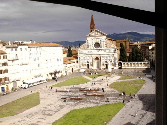 JK Place Firenze: View from my room