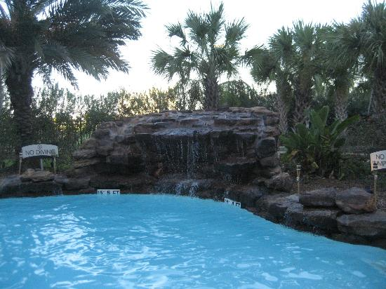 Waterfall In R Pool Picture Of Staybridge Suites