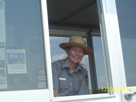 Fort Laramie National Historic Site: Smile